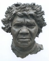 ALICE: From the Aboriginal community Bathurst Island - Life size portrait