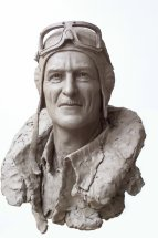 AIR MARSHAL SIR KEITH PARK: Life size portrait