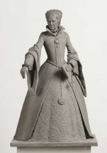 QUEEN MARY TUDOR: Figurative sculpture - proposal for Tudor series at Greenwich London